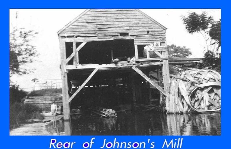 Johnsons Mill when still standing and in use