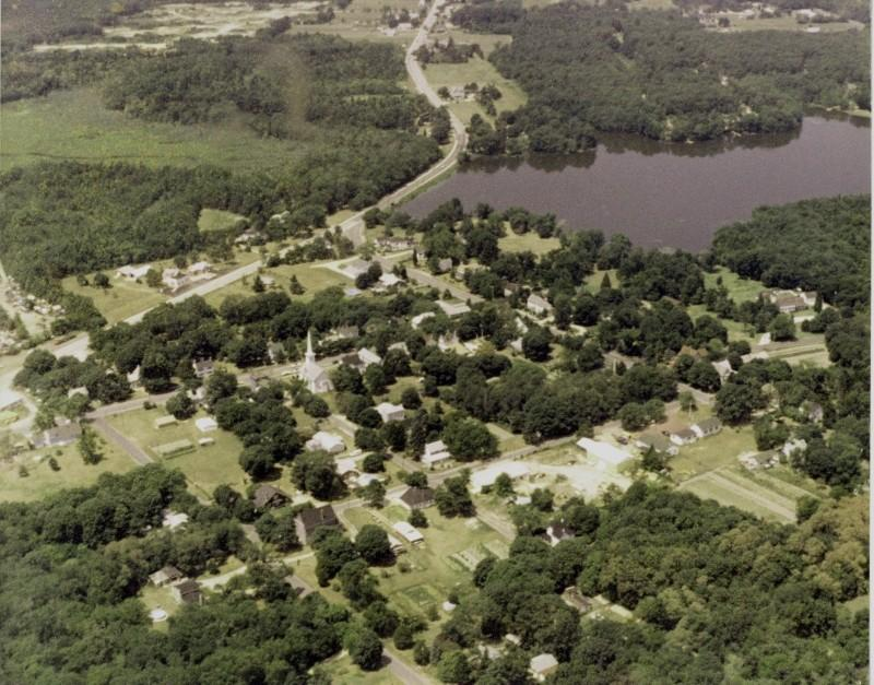 Aerial Photo of Dennisville and the lake
