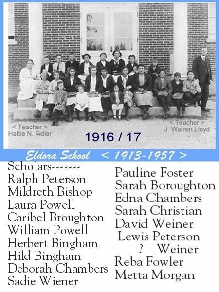 Eldora Class of 1916 and 1917