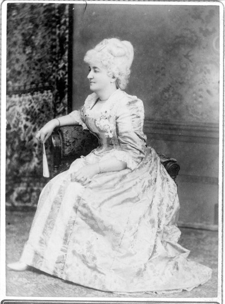Annabelle Lee Townsend wearing ornate dress