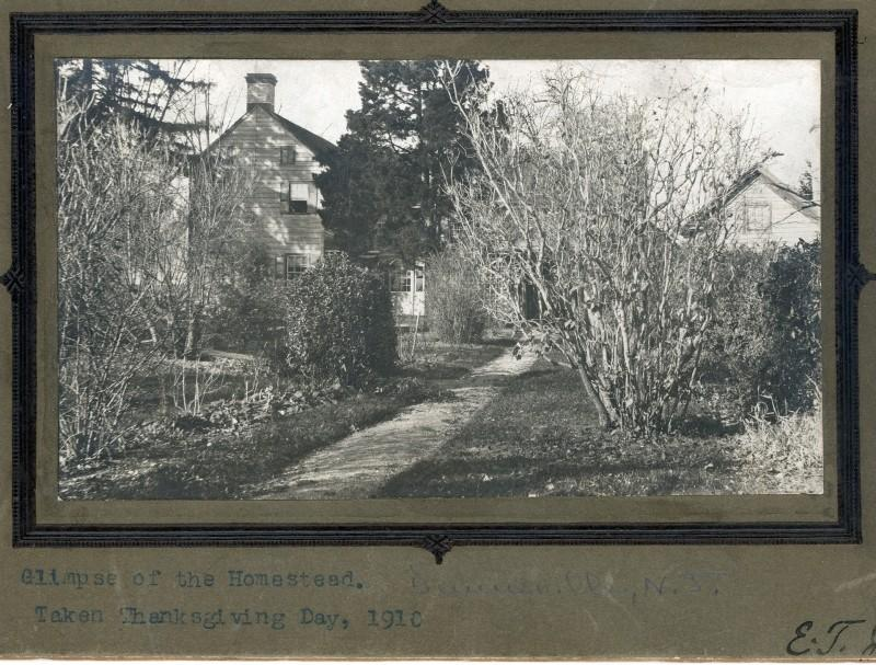 Thanksgiving 1910 photo of the Townsend Home