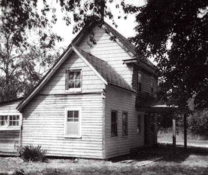 Side view of the Eliza Camp House