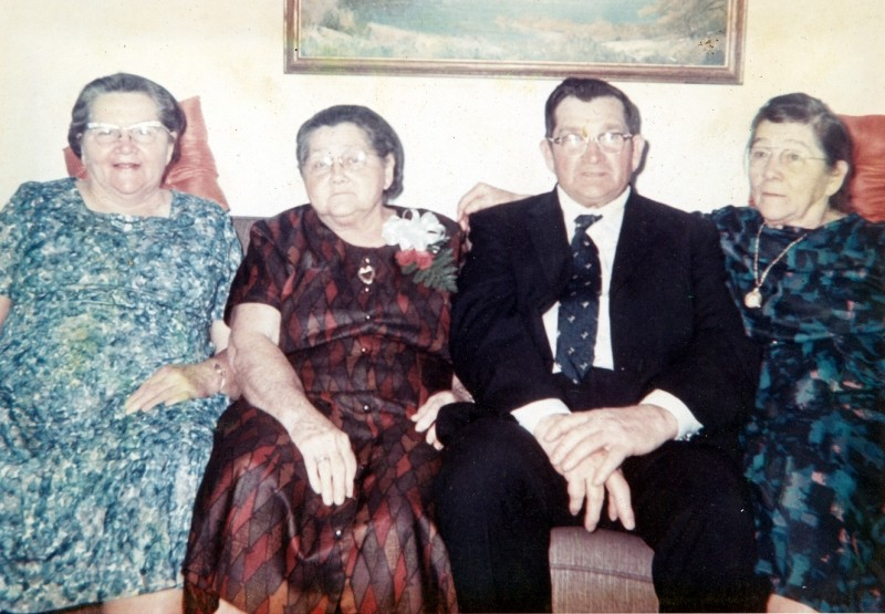 Color photo of the Cole siblings