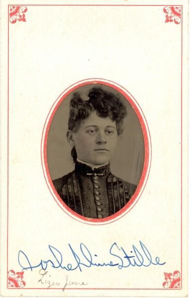 Lady's portrait identified as Joshephine Stille