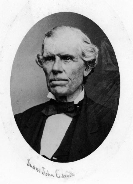 Portrait of Judge John Carroll