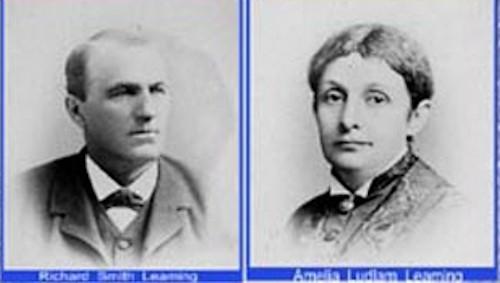 Richard and Amelia Leaming