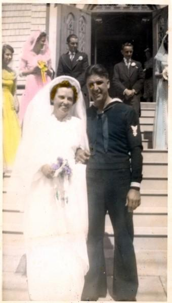 Wedding of Helen Meerwald and Cubby Canuso