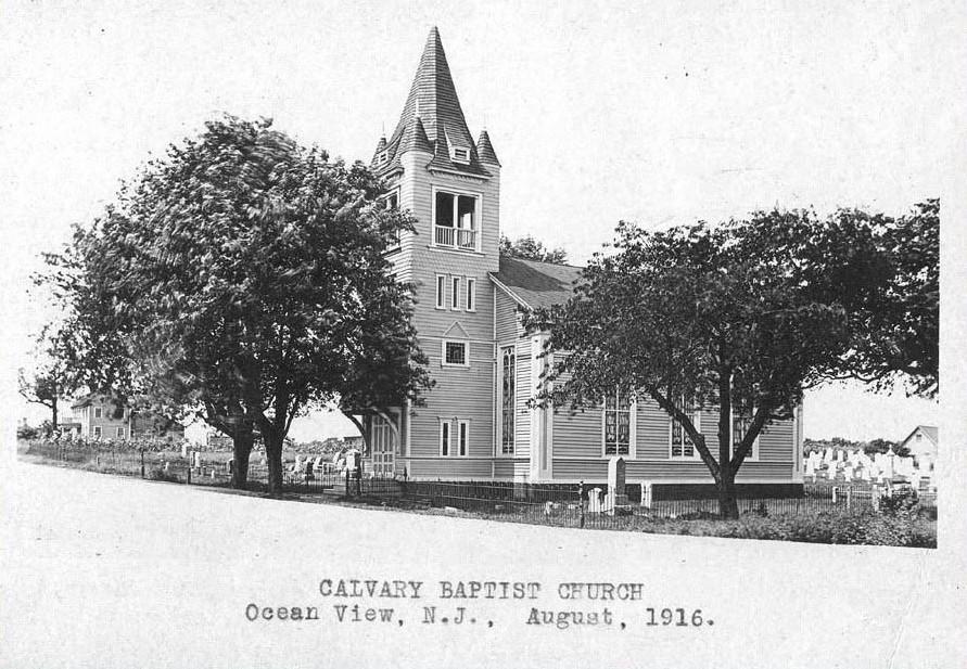 Calvary Baptist Church in 1916