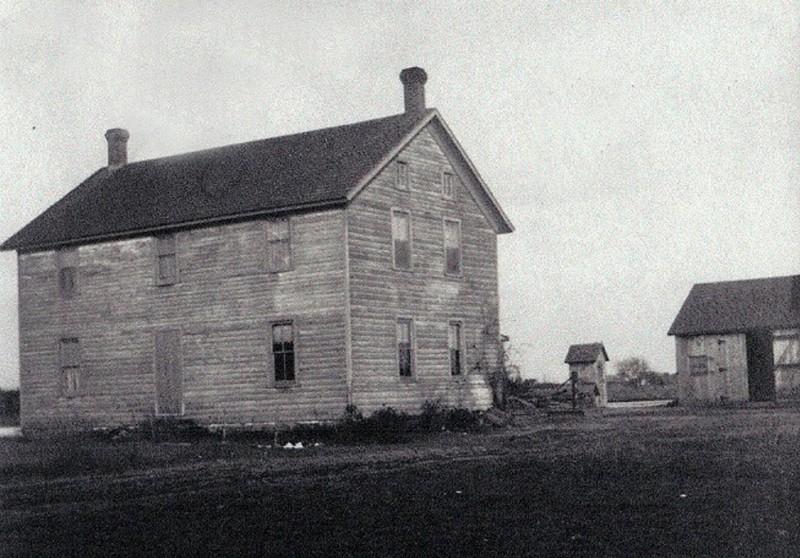 Old Handcock House on Kings Highway