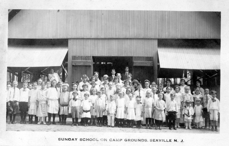 Sunday school camp in South Seaville