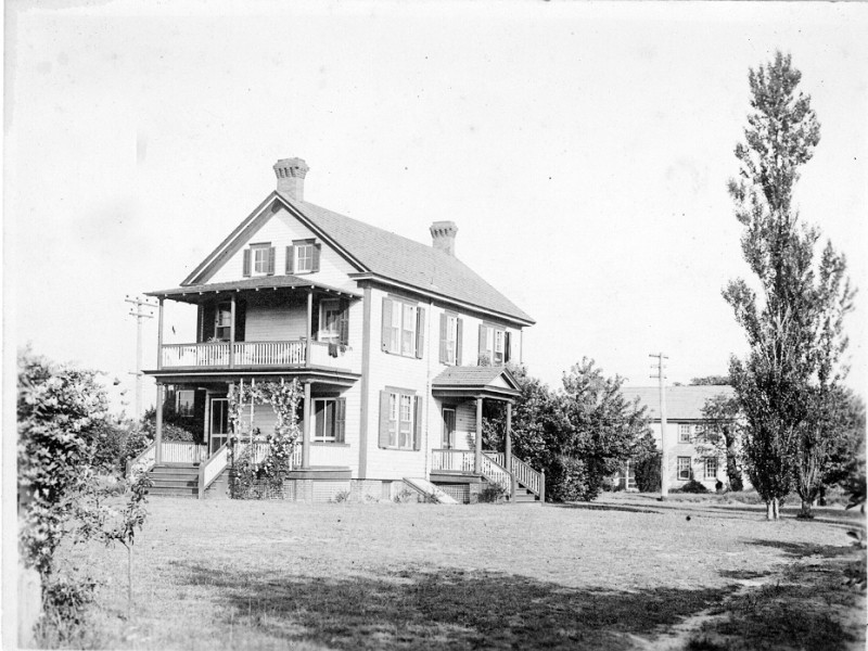South Seaville with two story porch