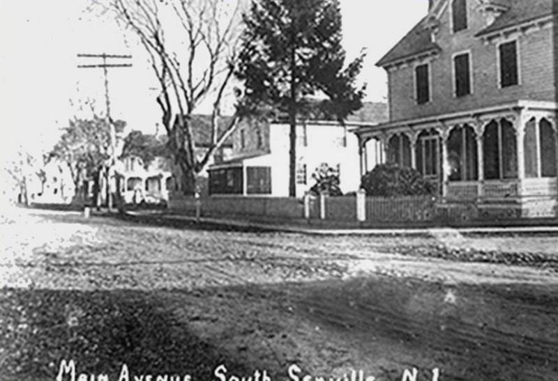 Main Street scene in South Seaville