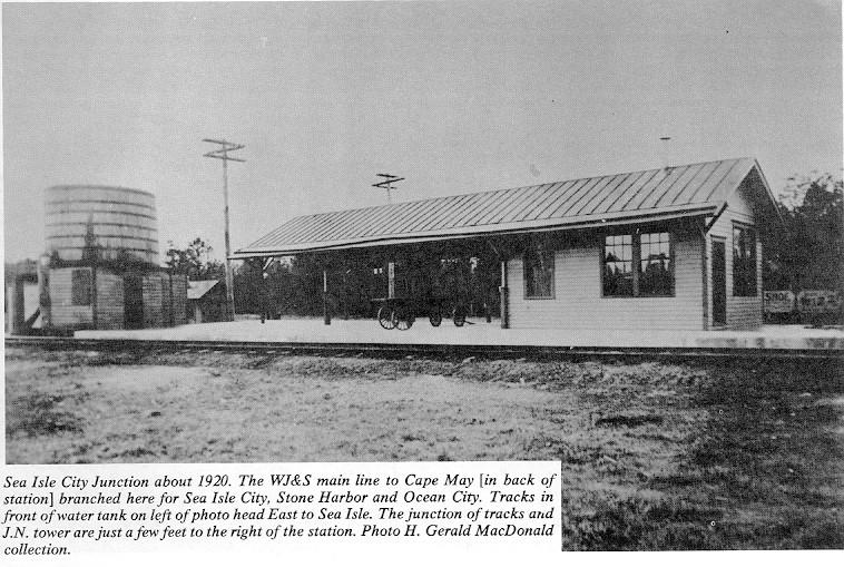 Sea Isle Junction Station circa 1920