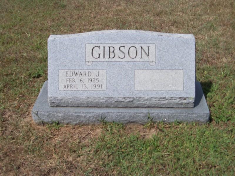 Edward J. Gibson marker