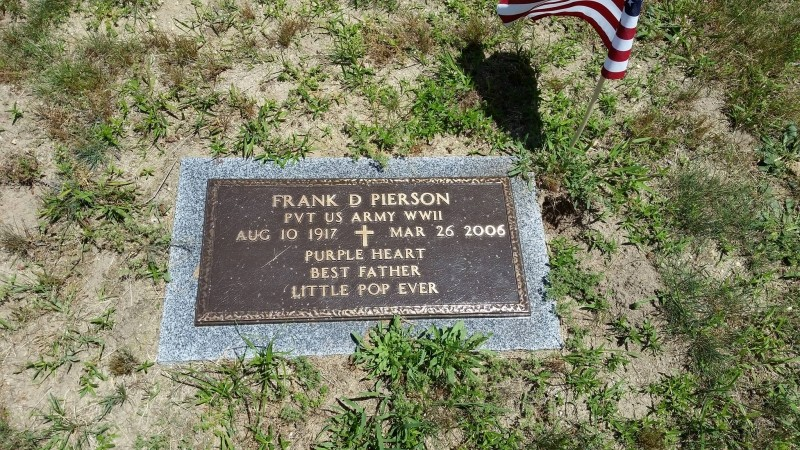 Frank D. Pierson marker