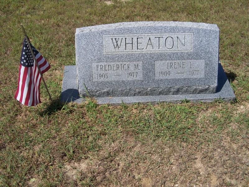 Frederick Wheaton marker