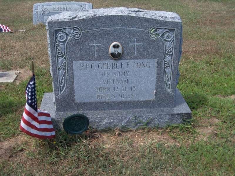 George F. Long marker