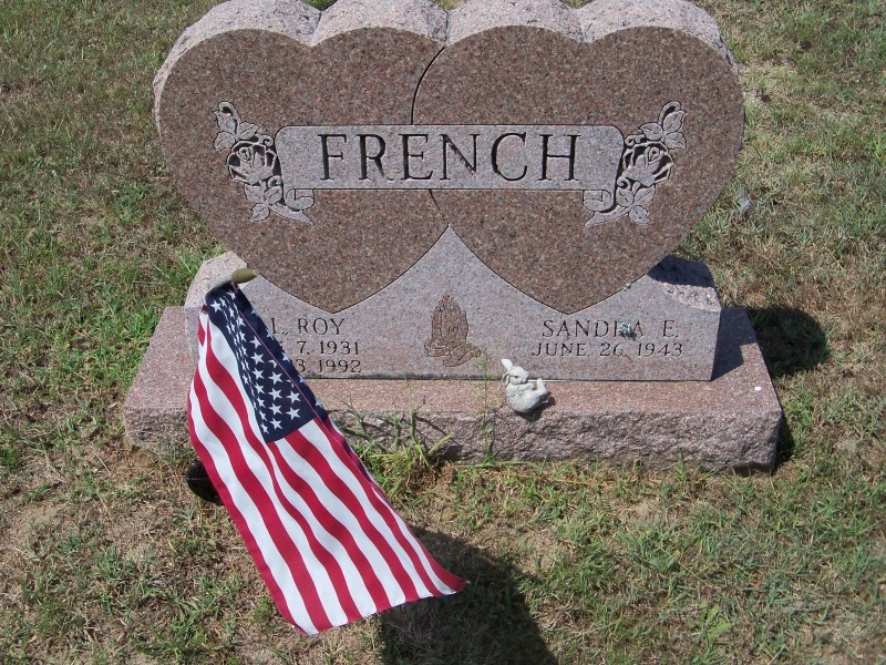 French grave marker