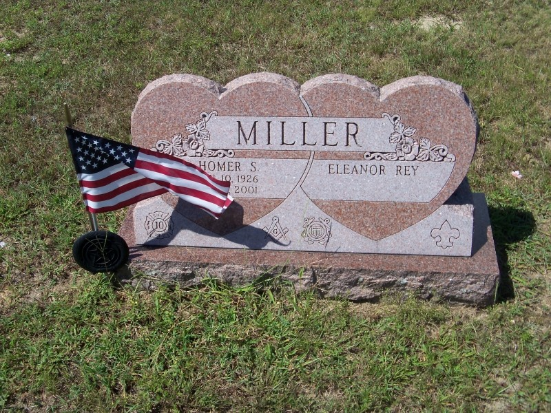 Miller gravemarker