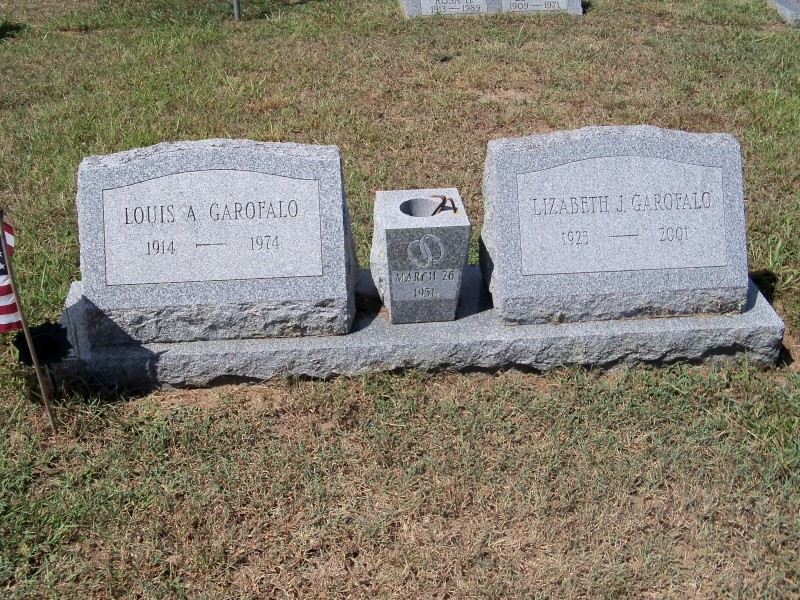 Louis and Lizabeth Garofalo double markers