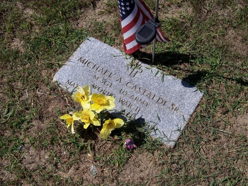 Michael A. Castaldi marker