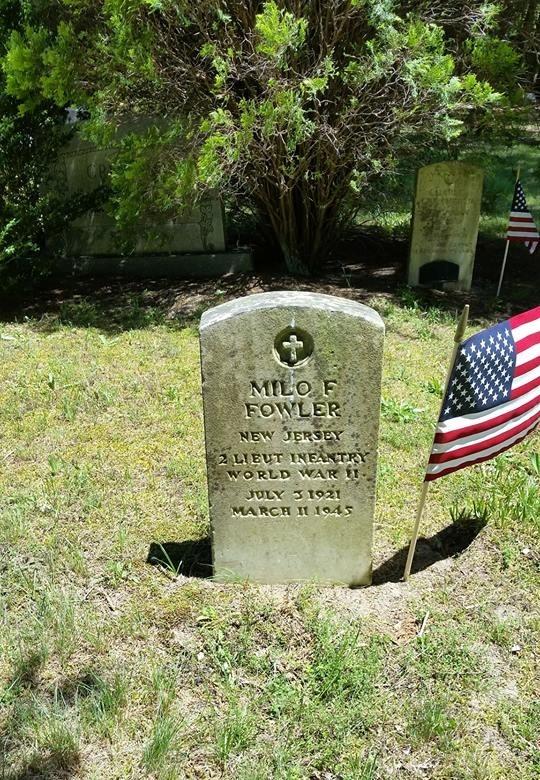 Milo F. Fowler marker