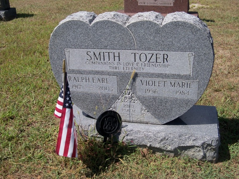 Smith Tozer gravemarker
