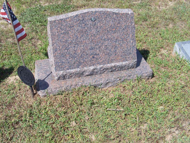 Robert E. Ellis marker