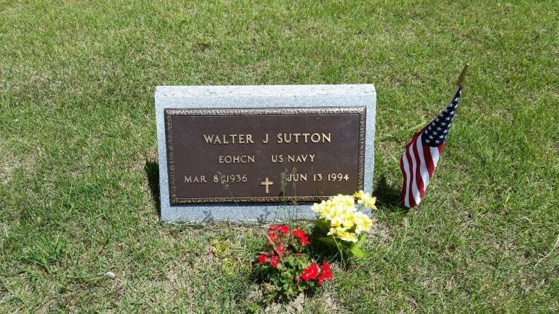 Walter J. Sutton marker