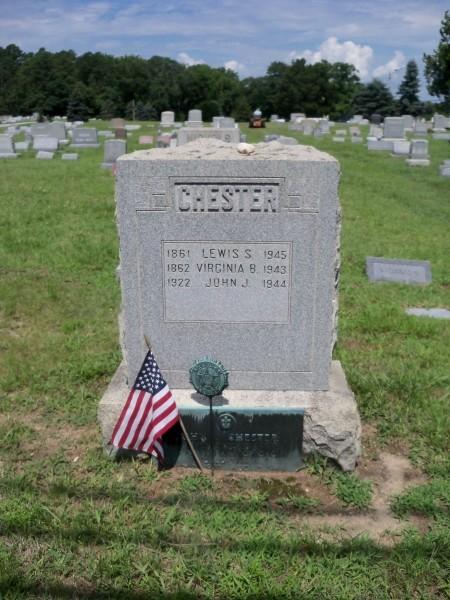 John J. Chester marker