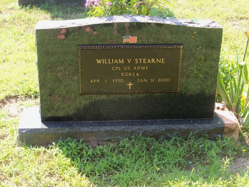 William Stearne marker